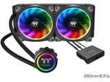 Floe Riing RGB 280 TT Premium Edition CL-W167-PL14SW-A (水冷一体型CPUクーラー)