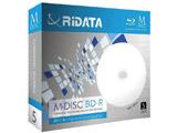 1〜4倍速対応 データ用Blu-ray BD-Rメディア【M-DISC】(25GB・5枚) MBDR25GBPW5P