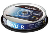 録画用 DVD-R 1-16倍速 4.7GB 10枚 【インクジェットプリンタ対応】 DRCP16XPW10RDD