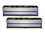 【在庫限り】 Sniper X F4-3200C16D-16GSXKB (288pin/DDR4-3200/8GBx2)