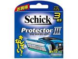 Schick(シック) プロテクタースリー 替刃12個入 〔ひげそり〕
