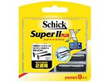 Schick(シック) スーパーII プラスX 替刃 9個入 〔ひげそり〕