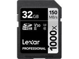 Lexar Professional 1000x SDHC UHS-IIカード 32GB LSD32GCBJP1000