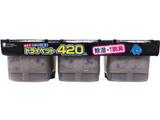 【備長炭ドライペット】 3個パック 420ml×3〔除湿剤・乾燥剤〕