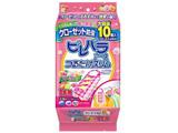 【防虫剤】ピレパラアース つるだけスリム 柔軟剤の香りフローラルソープ 10個入(防虫剤・除湿剤)