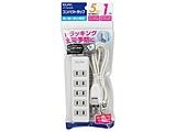 コード付タップ  ホワイト LPT-501N(W) [1.0m /5個口 /スイッチ無]