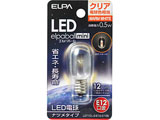 LED電球 「エルパボールミニ」(ナツメ形/電球色相当・口金E12) LDT1CL-G-E12-G106