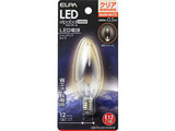 LED電球 「エルパボールミニ」(シャンデリア形/電球色相当・口金E12) LDC1CL-G-E12-G316