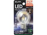 LED電球 「エルパボールミニ」(S形ミニ球形/電球色相当・口金E17) LDA1CL-G-E17-G456