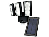 屋外用LEDセンサーライト ソーラー式 3灯 SL-313SL [白色 /ソーラー式]