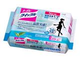 【トイレクイックル】 つめかえ用 ジャンボパック 20枚入〔トイレ用洗剤〕