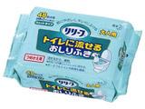 【リリーフ】 トイレに流せるおしりふき  つめかえ用  24枚