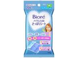 【Biore(ビオレ)】 メイクしたまま さっぱりシート ひんやりミント 20枚入