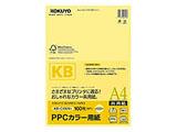 PPCカラー用紙(共用紙)  (A4・100枚) KB-C139NY