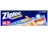 【Ziploc(ジップロック)】イージージッパー 中 30枚入