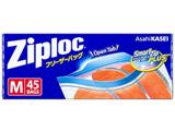 【Ziploc(ジップロック)】フリーザーバッグ M  45枚入