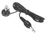 ラジオ用片耳イヤホン(ブラック)ME-84H<1.0mコード>