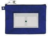 [ケース] ノータム・鍵付きメールバッグレベルA マチナシA4 紺(サイズ:260×370×15mm) UNMA01-A4#38