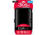 ニンテンドー3DS LL用 セミハードケース ブラック 【3DS LL】 [SZC-3DSLL01BK]