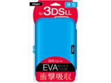 ニンテンドー3DS LL用 セミハードケース ブルー 【3DS LL】 [SZC-3DSLL01BL]