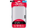 ニンテンドー3DS LL用 セミハードケース ホワイト 【3DS LL】 [SZC-3DSLL01W]