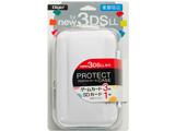 ニンテンドーNew3DS LL用 プロテクトケース ホワイト 【New3DS LL】 [SZC-3DSLL1401W]