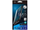 iPhone 7 Plus用 ガラスフィルム 防指紋 ブルーライトカット SMF-IP163GFLKBC