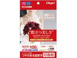 インクジェット用 印画紙 超厚手 はがきサイズ 100枚 JPSK2PC100 [はがき /100枚〜]