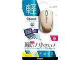 MUSBKT99GL 無線マウス(BlueLED/Bluetooth/3ボタン/ゴールド) [Bluetoothマウス・ブルーLED方式]