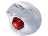 ワイヤレスレーザートラックボール[Bluetooth・Mac/Win] 静音・コンパクトモデル (5ボタン・ホワイト) MUS-TBLF134W