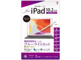 【フィルム】iPad10.2inch(2019)用液晶保護フィルム 透明反射防止ブルーライトカット TBFIP19FLGCBC