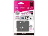 59+8メディア対応 USB3.0マルチカードリーダー/ライター(ブラック) CRW-38M56BK