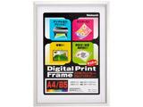 アルミ製デジタルプリントフレーム A4判/B5判(マット使用時) フ-DPA-A4