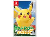 【特典対象】【11/16発売予定】 ポケットモンスター Let's Go! ピカチュウ 通常版 【Switchゲームソフト】