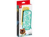 Nintendo Switch Liteキャリングケース あつまれ どうぶつの森エディション 〜たぬきアロハ柄〜(画面保護シート付き) HDH-A-PSSAE