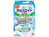 フローラルミセスロイド クローゼット用 3個入 ホワイトアロマソープの香り〔防虫剤〕
