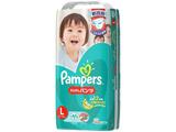 【Pampers(パンパース)】さらさらケア パンツタイプ スーパージャンボ Lサイズ 44枚〔おむつ〕