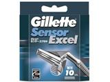 ジレット センサーエクセル専用替刃10個入