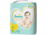 【Pampers(パンパース)】はじめての肌へのいちばん テープ ウルトラジャンボ Sサイズ 76枚〔おむつ〕