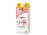 【ピジョン】 ベビー全身泡ソープ ベビーフラワーの香り 詰めかえ用 2回分 800ml〔ベビーソープ〕