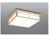 リモコン付LED和風シーリングライト(~12畳) LEC-CH1200CJ 調光・調色(昼光色~電球色)