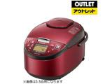 HITACHI(日立) 炊飯器 RZ-RV18BKM-R レッド [1升 /圧力IH] 【外装不良品】
