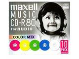 音楽用CD-R(80分10枚入り) CDRA80MIX.S1P10S