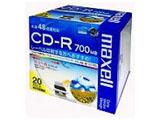 48倍速対応 データ用CD-Rメディア(700MB・20枚) CDR700S.WP.S1P20S