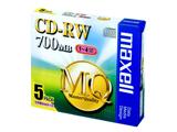 CDRW80MQ.S1P5S 1〜4倍速対応 データ用CD-RWメディア(700MB・5枚入)
