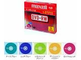 1-2倍速対応 データ用DVD-RWメディア (4.7GB・5枚) DRW47MIXB.S1P5SA