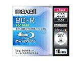 1〜6倍速対応 データ用Blu-ray BD-Rメディア (25GB・10枚) BR25PWPC.10S