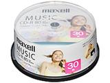 音楽用CD-R 80分/30枚【インクジェットプリンタ対応】【カラーミックス】   CDRA80PSM.30SP