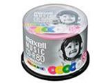 CDRA80MIX.50SP 音楽用CD-R 「カラーMIX」(50枚/80分/カラーレーベル)