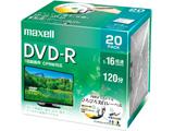 録画用DVD-R 1〜16倍速 20枚 120分(標準モード)/片面4.7GB CPRM対応 【インクジェットプリンター対応】 DRD120WPE.20S